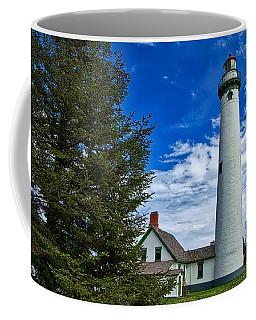 Pine At New Presque Isle Light Coffee Mug