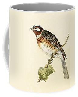 Pine Bunting Coffee Mug
