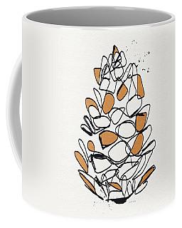 Pine Cone- Art By Linda Woods Coffee Mug