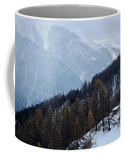 Pine Forest In The Alps Coffee Mug