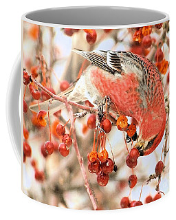 Pine Grosbeak Coffee Mug