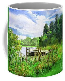 Pine Lake Pier Coffee Mug