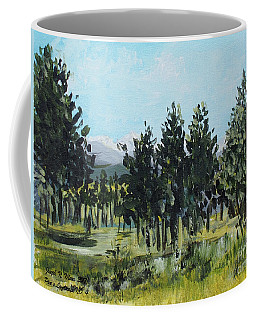 Pine Landscape No. 4 Coffee Mug