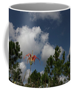 Pine Lily And Pines Coffee Mug