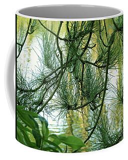 Pine Needles Patchwork Coffee Mug