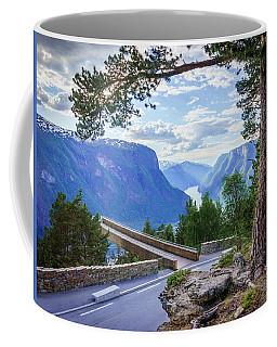 Pine On Stegastein Coffee Mug