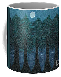 Pine Tree Lake Coffee Mug