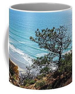 Pine Tree On Coast Coffee Mug