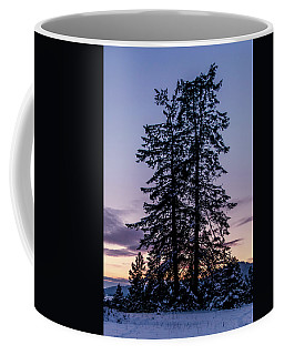 Pine Tree Silhouette    Coffee Mug