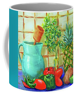 Pineapple Salsa Coffee Mug