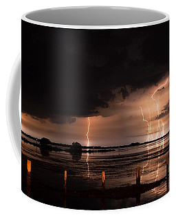 Pineland Nights Coffee Mug by Quinn Sedam