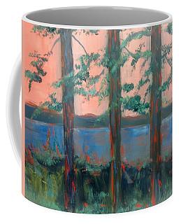 Pines At Dusk Coffee Mug