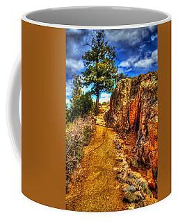 Ponderosa Pine Guarding The Trail Coffee Mug