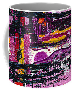 Pink Abstraction Coffee Mug