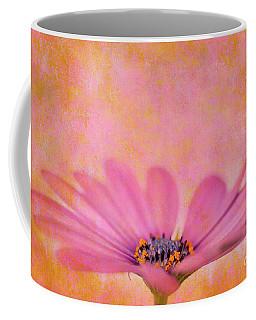 Pink African Daisy Coffee Mug