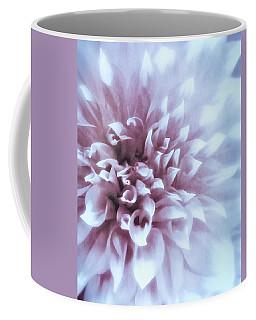 Pink And Blue Dahlia Coffee Mug