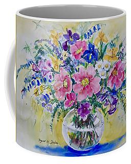 Pink And Blue Coffee Mug