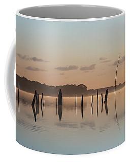 Pink And Blue Skies Coffee Mug