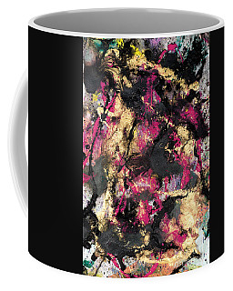 Pink And Gold Merge Coffee Mug