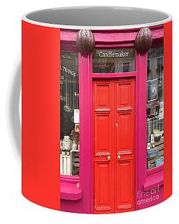 Pink And Orange Door Ireland Coffee Mug