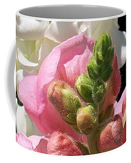 Coffee Mug featuring the photograph Sweet Peas by Eunice Miller