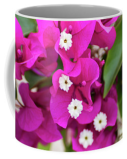 Pink And White Flowers Coffee Mug