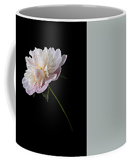 Pink And White Peony Coffee Mug