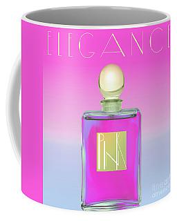 Pink Art Deco Perfume Coffee Mug
