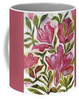 Pink Azaleas Coffee Mug by Julie Maas