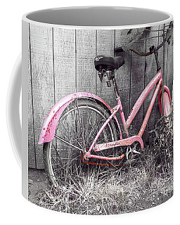 Pink Bicycle Coffee Mug