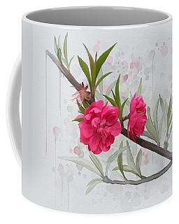 Hot Pink Blossom Coffee Mug