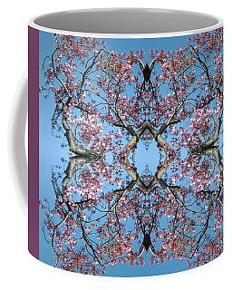 Pink Blossom Mandala Coffee Mug