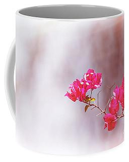 Pink Bougainvillea Flowers In Sunlight Coffee Mug