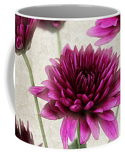 Pink Bouquet Coffee Mug by Judy Vincent