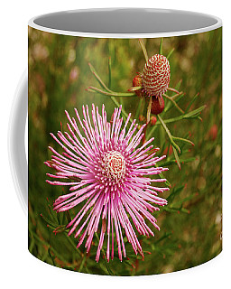 Coffee Mug featuring the photograph Pink Brilliance by Cassandra Buckley