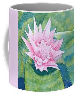 Pink Bromiliad Coffee Mug