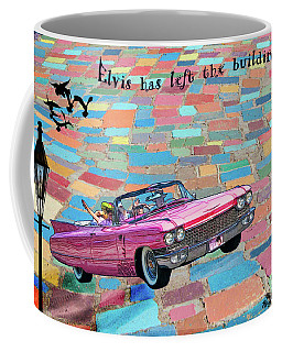 Pink Cadillac Coffee Mug
