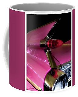 Pink Cadillac Coffee Mug by Trey Foerster