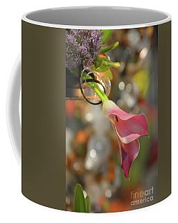 Pink Calla Lily Coffee Mug by Cindy Manero