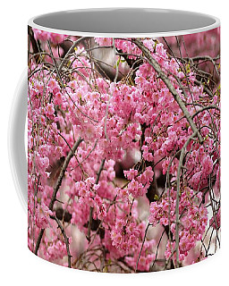 Pink Cherry Blossom Japan Arashayama Spring Holiday Diaries Coffee Mug