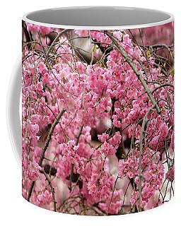 Pink Cherry Blossom Japan Arashayama Spring Holiday Diaries Coffee Mug