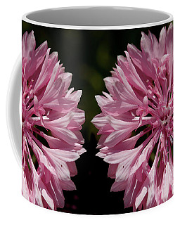 Pink Cornflowers Coffee Mug