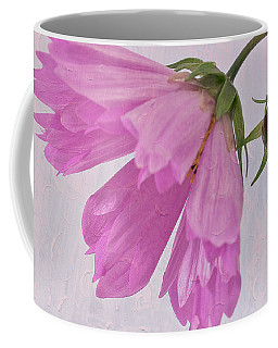 Pink Cosmo Flower And Bud Coffee Mug