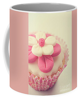Coffee Mug featuring the photograph Pink Cupcake by Lyn Randle