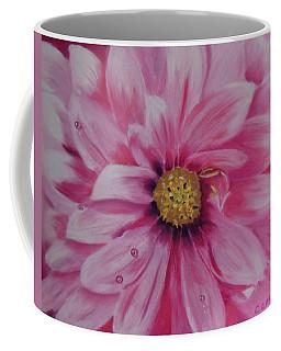 Pink Dahlia I Coffee Mug