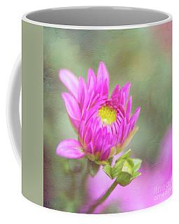 Emerging Pink Dahlia Full Of Hope Coffee Mug