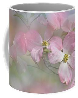 Pink Dogwood 02 Coffee Mug by Ann Bridges
