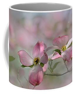 pink Dogwood 03 Coffee Mug by Ann Bridges
