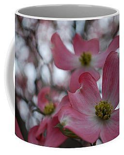 Pink Dogwood Blossoms Coffee Mug