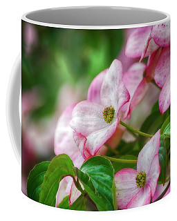 Coffee Mug featuring the photograph Pink Dogwood by Bonnie Bruno